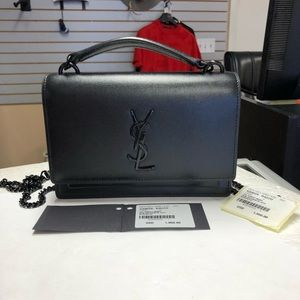 YSL Saint Laurent Sunset Chain Wallet
